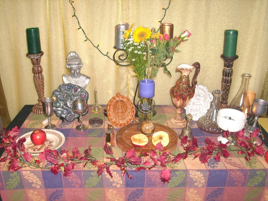 Mabon 07 Altar