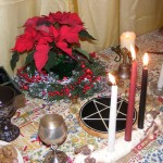 Yule Altar 2010