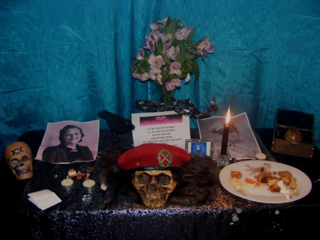 Ancestor Altar 2011