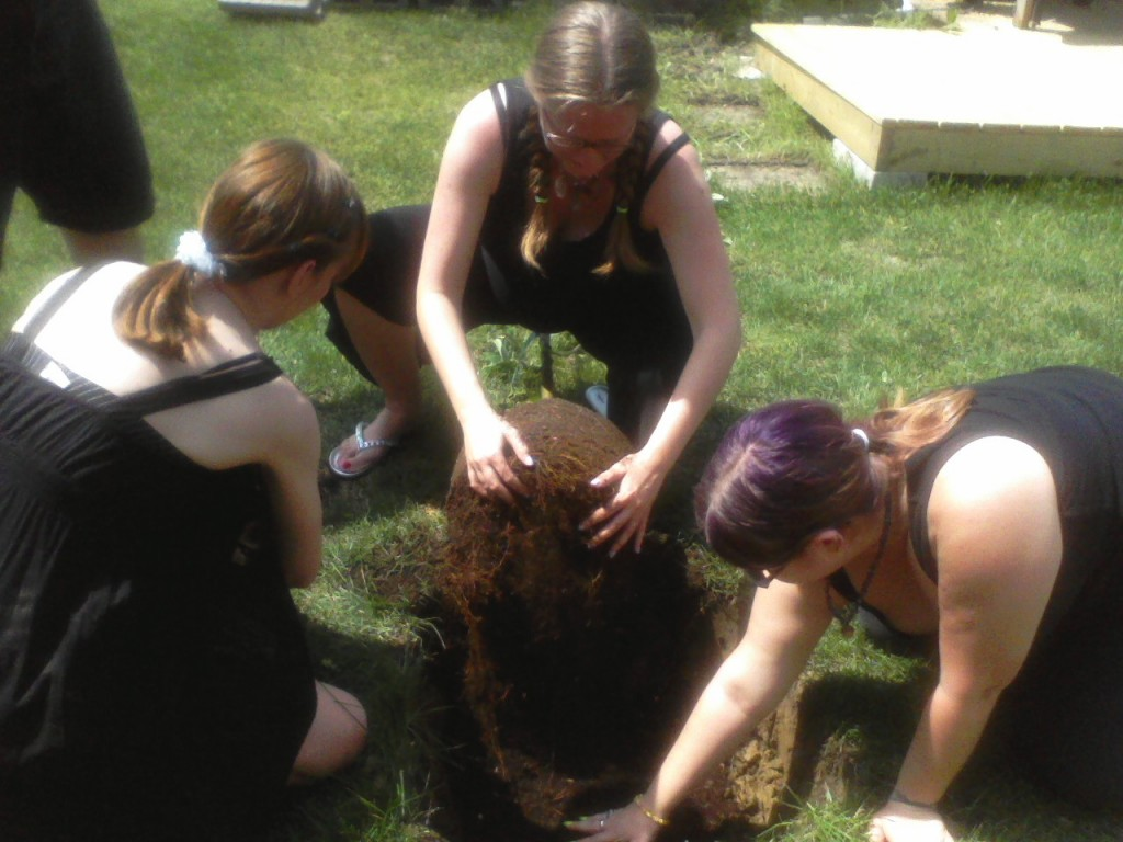 The Planting of the Beltane Tree