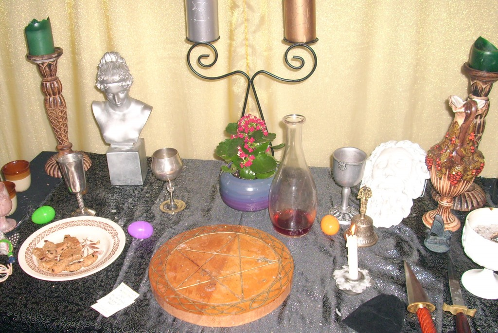 Ostara Altar 2010