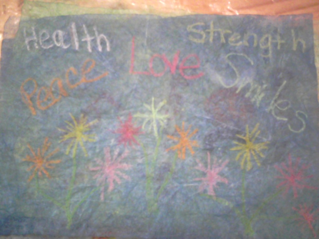 Health; Strength;Peace;Love; Smile