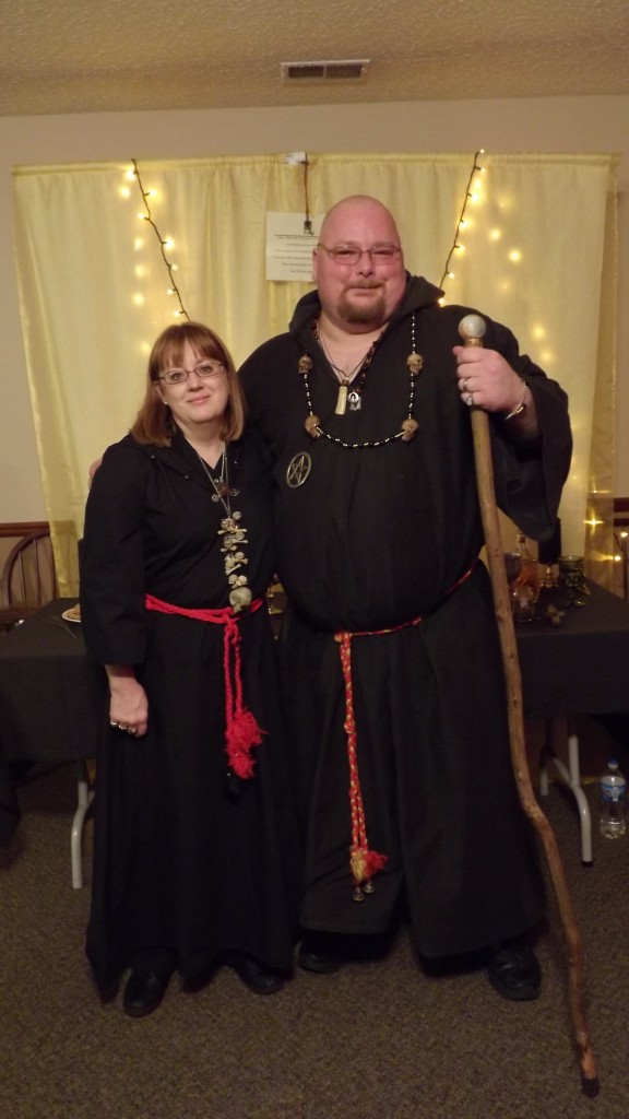 Lady Minerva and Lord Gwydion