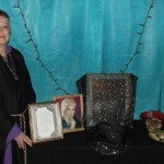 Lady Bona Dea at the Ancestor Altar