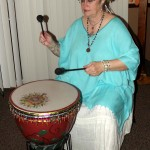 Lady Bona Dea drumming