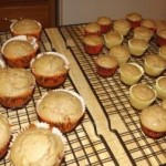 Our Sabbat cakes cooling