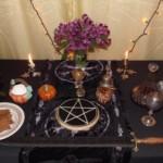 Hallow altar