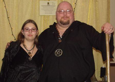 priestess and priest of Yule 1