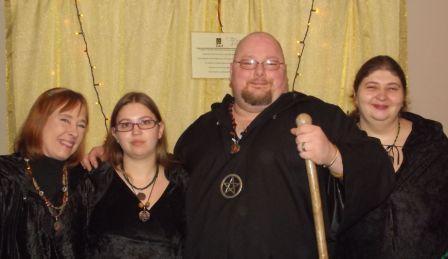 yule ritual party