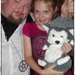 Daddy and Phoenix (with Wolfy)