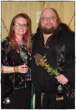 Priestess and High Priest of Yule