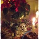 The skull represents the ancestors