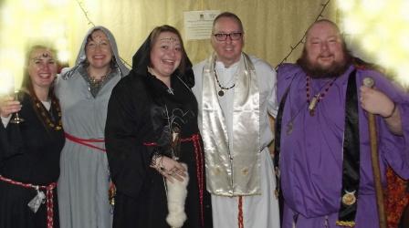 Lady Selene, Lady Epona Wren, Lady Arawyn, Lord Palentine, and Lord Gwydion